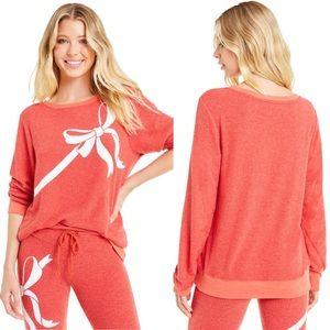 NWT Wildfox Gift Wrapped BBJ Christmas Sweatshirt